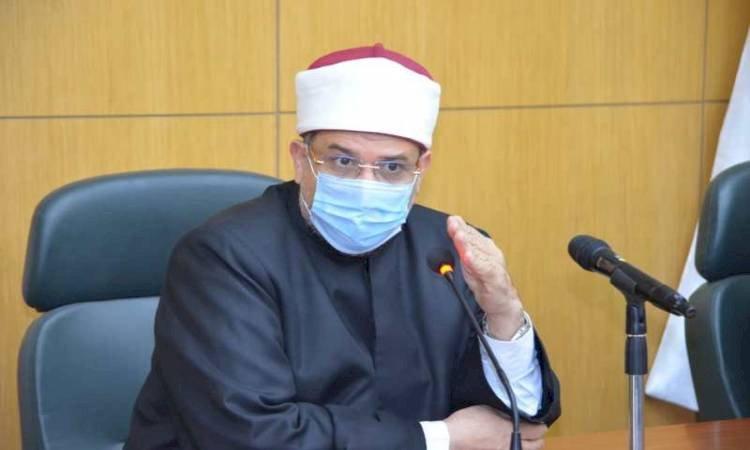 وزير الأوقاف : صلاة الغائب على شهداء حادث قطارى سوهاج بالسيدة نفيسة اليوم